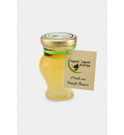 Miele d'acacia con tartufo bianco pregiato
