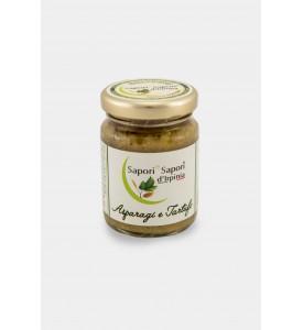 Crème d'asperges et truffe