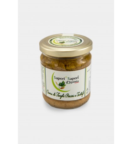 Cream of Porcini and Truffle