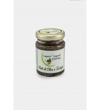 Olivencreme und Trüffel
